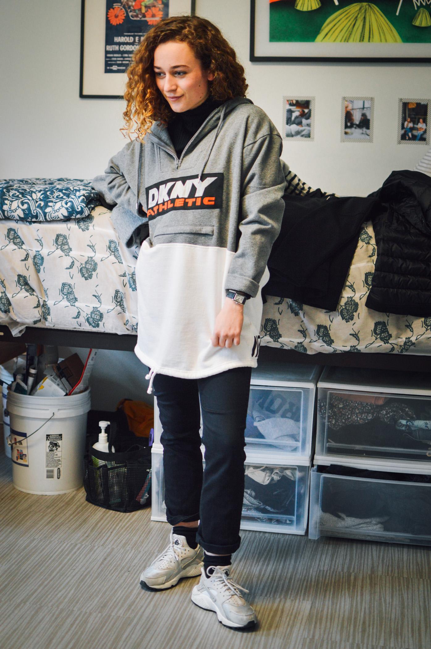 Sweatshirt: DKNY for Opening Ceremony
