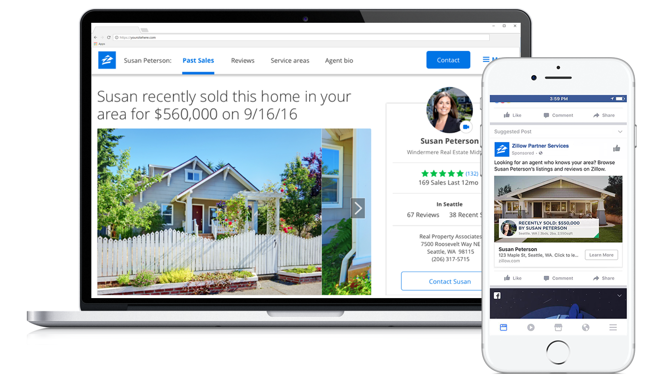 Zillow's Premier Agent Direct product