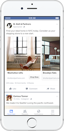 Facebook's Dynamic Ads for Real Estate product