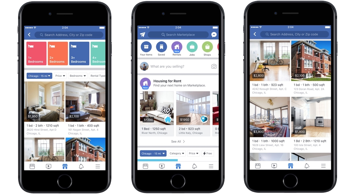 Facebook Marketplace's Property Rentals