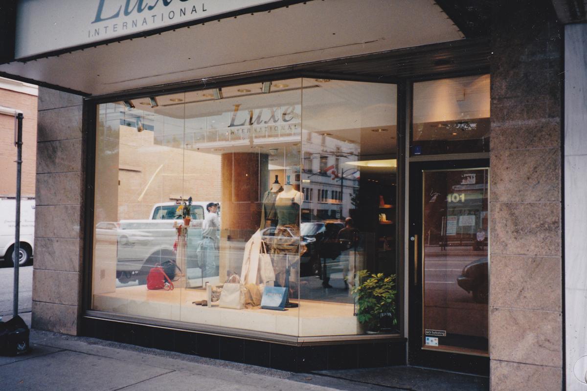 Tenant improvement - Loewe, Robson St. & Burrard, Vancouver, BC