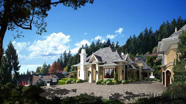 Private residence, W. Vancouver, BC (Design Marque)