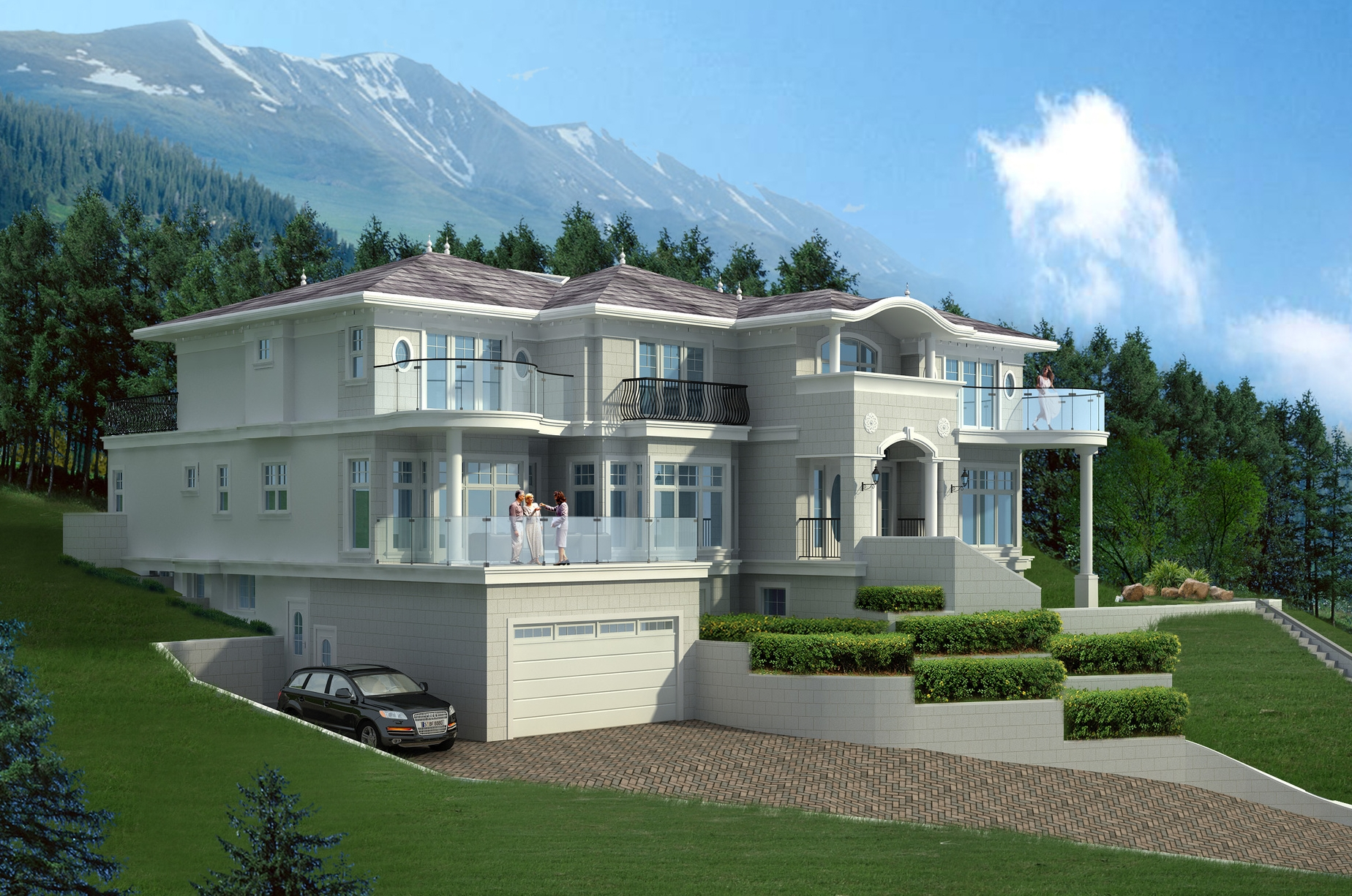 Pasricha Residence, Westhill, W. Van., BC