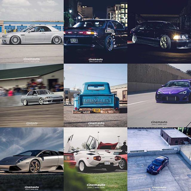 2017 has been full of some great rides and even better memories! Here's our top 9 shots from this year! // 📷 @dasemilioo @jamessanny @logiee_e30 // #cinemauto