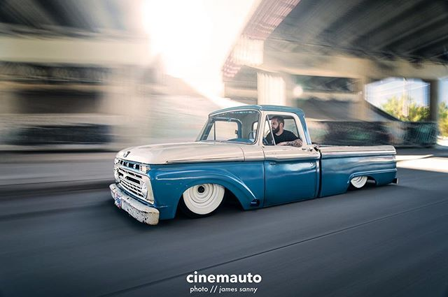 It's pretty cool to see @gameoverbuilt in @f100buildersguideofficial  with his old F100 build. Congrats, man! // Don't forget, we did a build video with Eric and this truck back in fall 2016. Check our profile for the link!