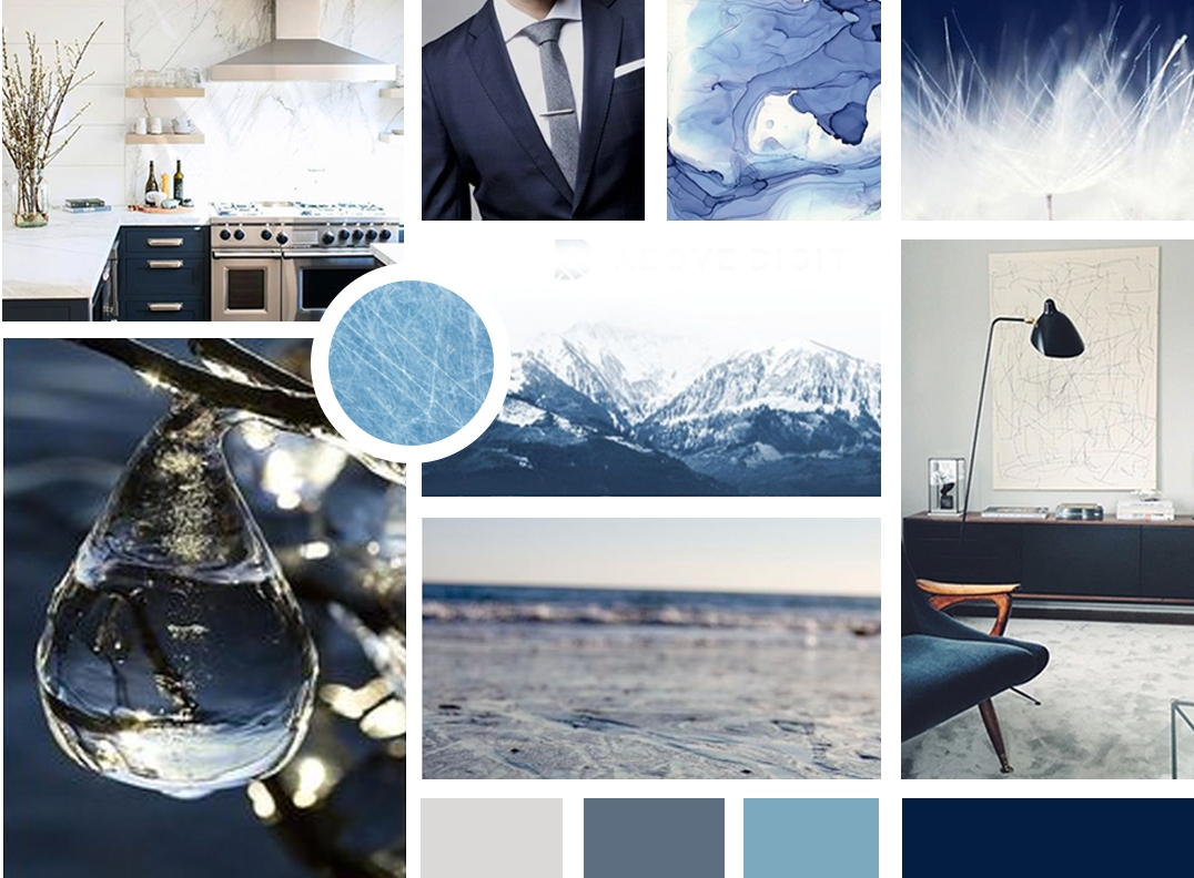 A mood board is one of the first steps in our creative process. Read more about our process  here .
