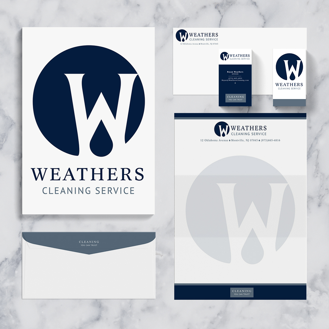 Stationery Set for Small Business