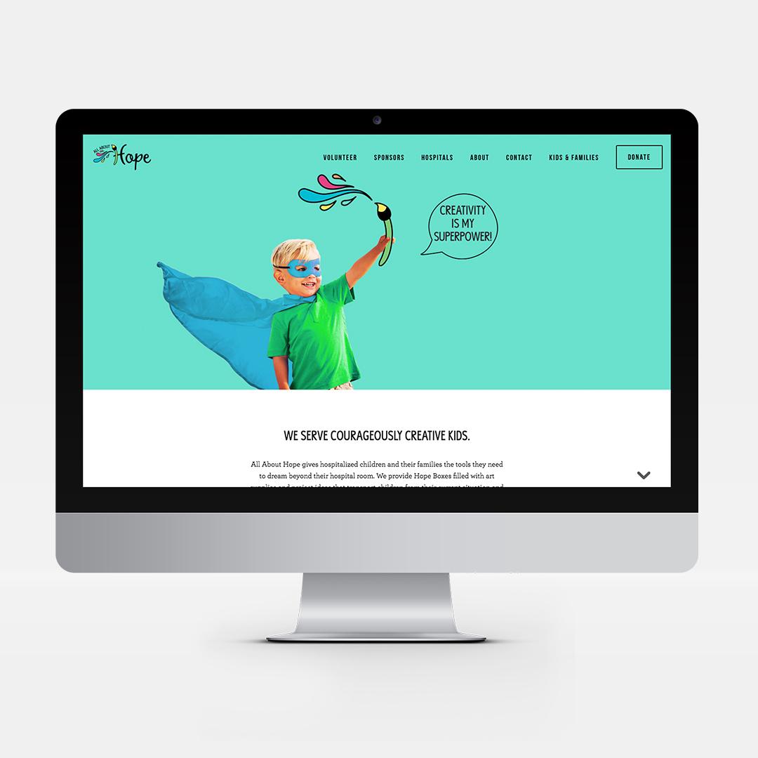 Full Website for Non-Profit