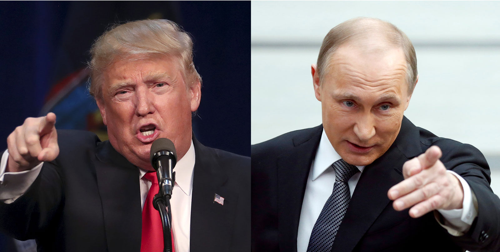 Donald Trump and Vladimir Putin. Source:  New York Review of Books
