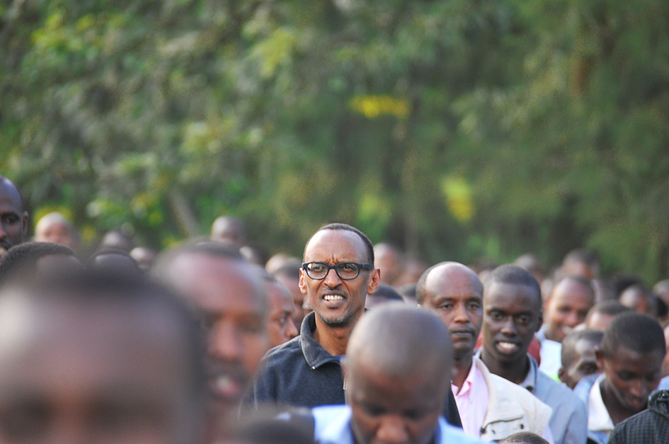 Rwandan President Paul Kagame at an event commemorating the genocide. Source:  wikimedia