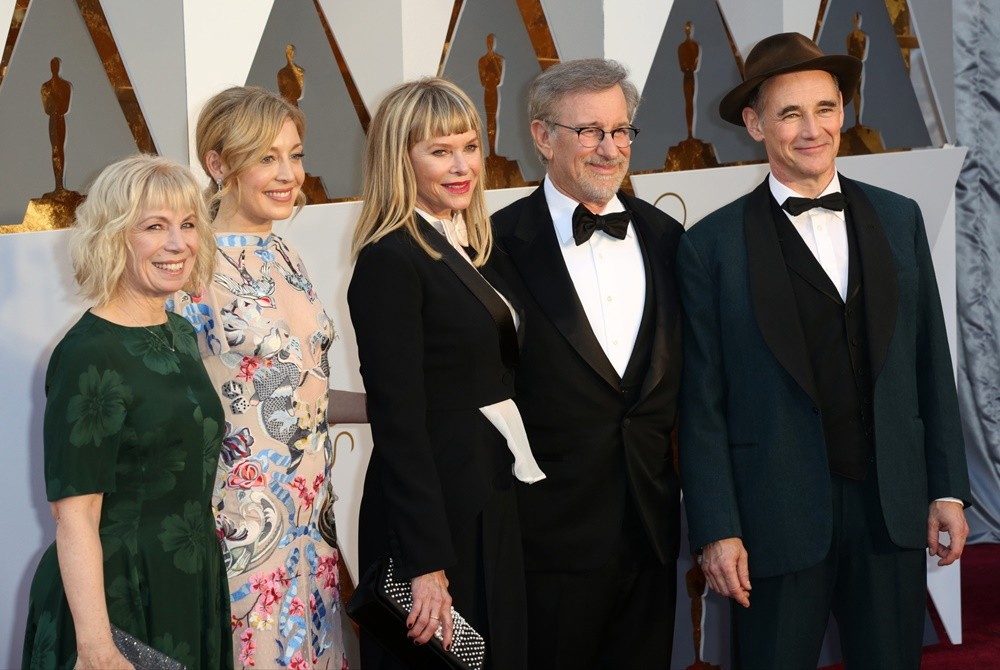 Celebrities attend 88th Annual Academy Awards at Hollywood & Highland Center in Hollywood.  Featuring: Claire van Kampen, Juliet Rylance, Kate Capshaw, Steven Spielberg, Mark Rylance Where: Los Angeles, California, United States When: 28 Feb 2016 Credit: Brian To/WENN.com