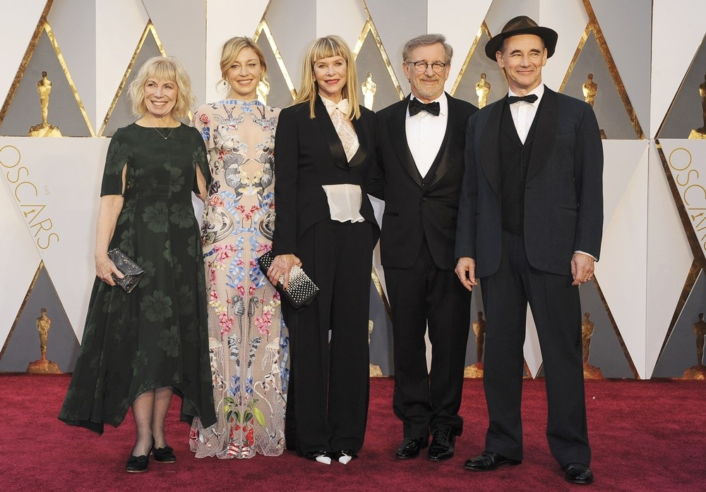 The 88th Annual Academy Awards Arrivals  Featuring: Mark Rylance, Steven Spielberg, Kate Capshaw Where: Los Angeles, California, United States When: 29 Feb 2016 Credit: Apega/WENN.com