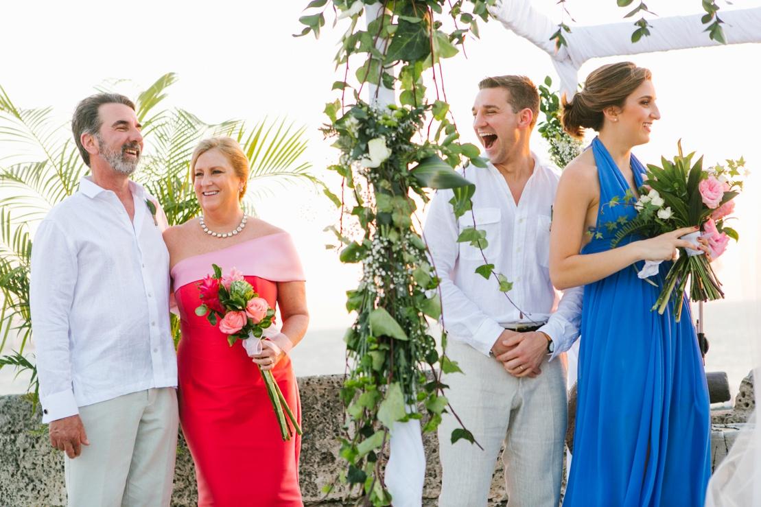Cafe Del Mar Cartagena Wedding