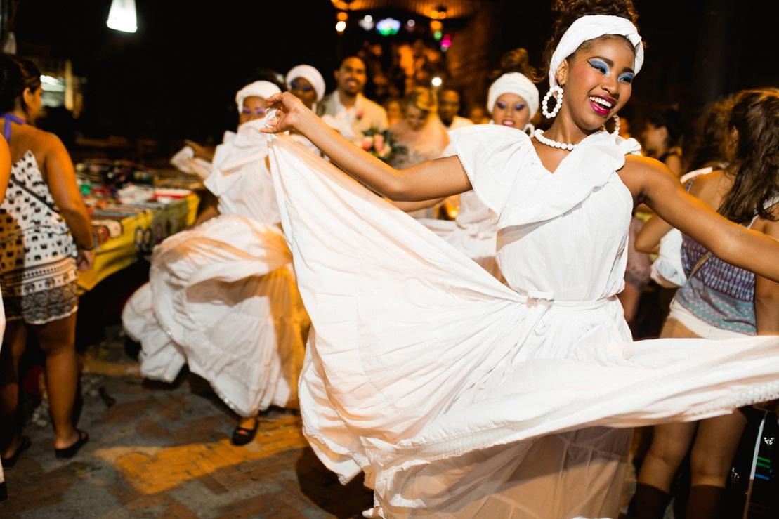 Cartagena Wedding Parade