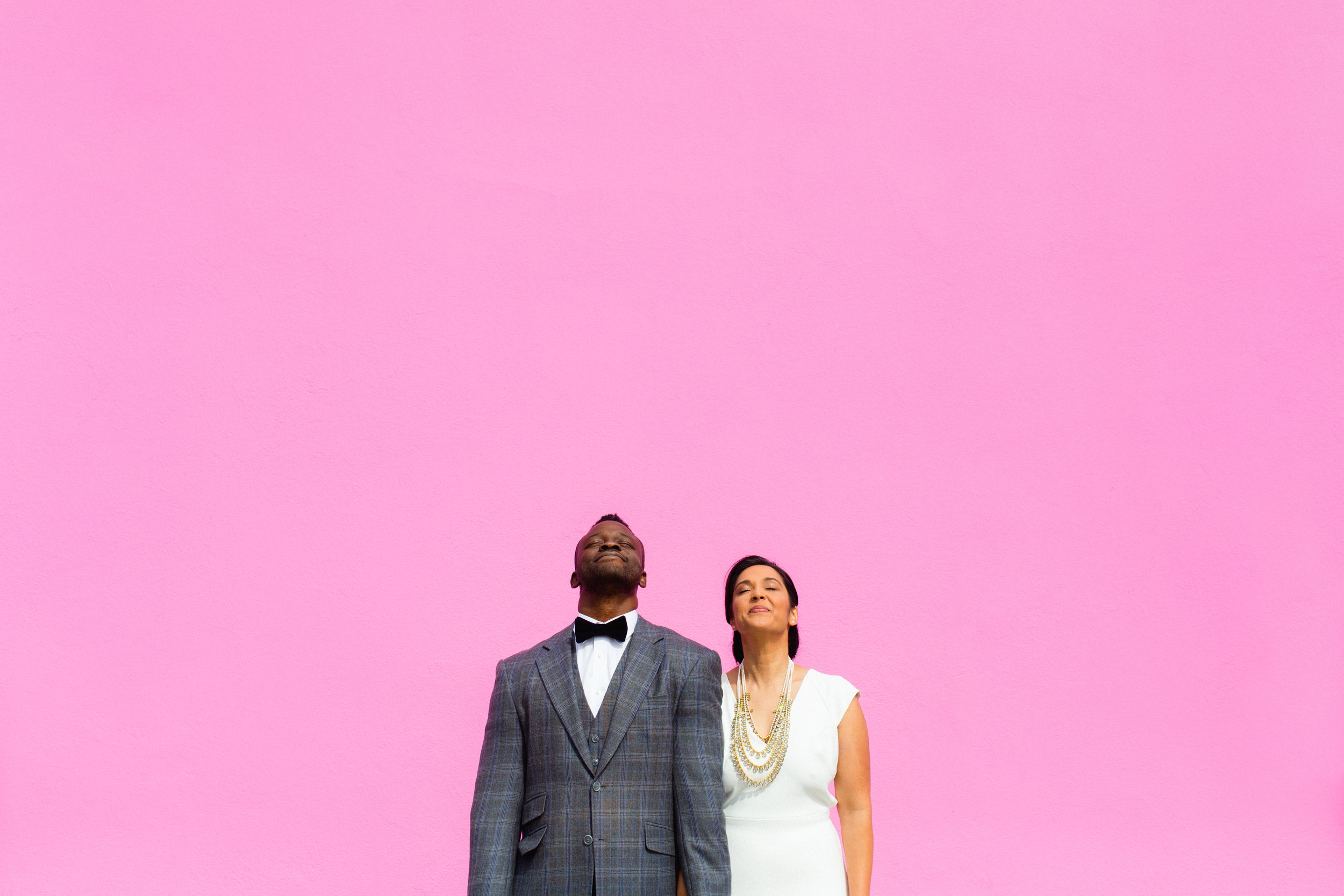 Paul Smith Pink Wall Wedding