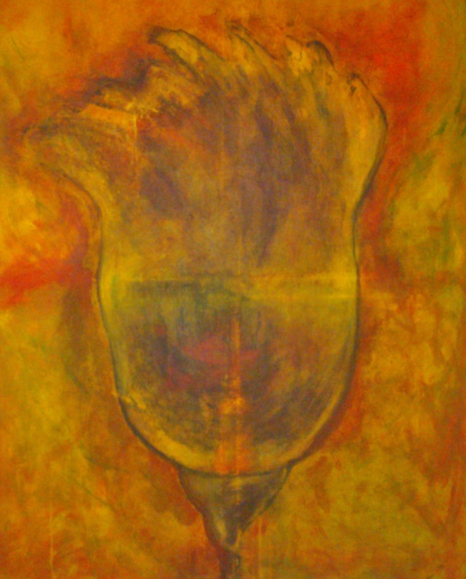 Tulikukka, 115x89, 2012