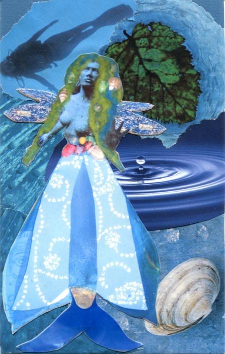 Yemaya, SoulCollage® card
