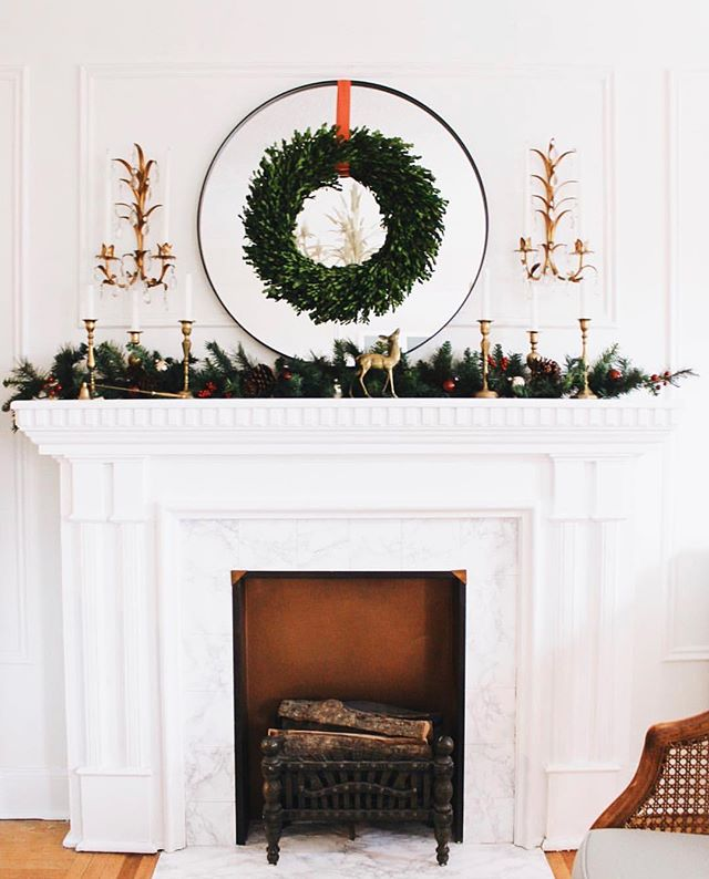 A little holiday design inspiration from @tiffanyleighdesign #regram