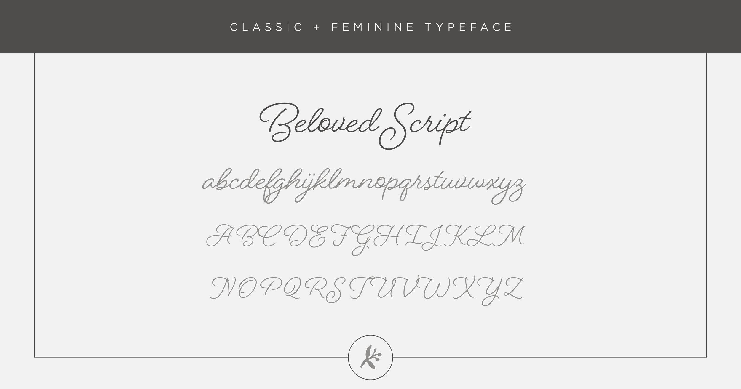 Classic Feminine Typeface