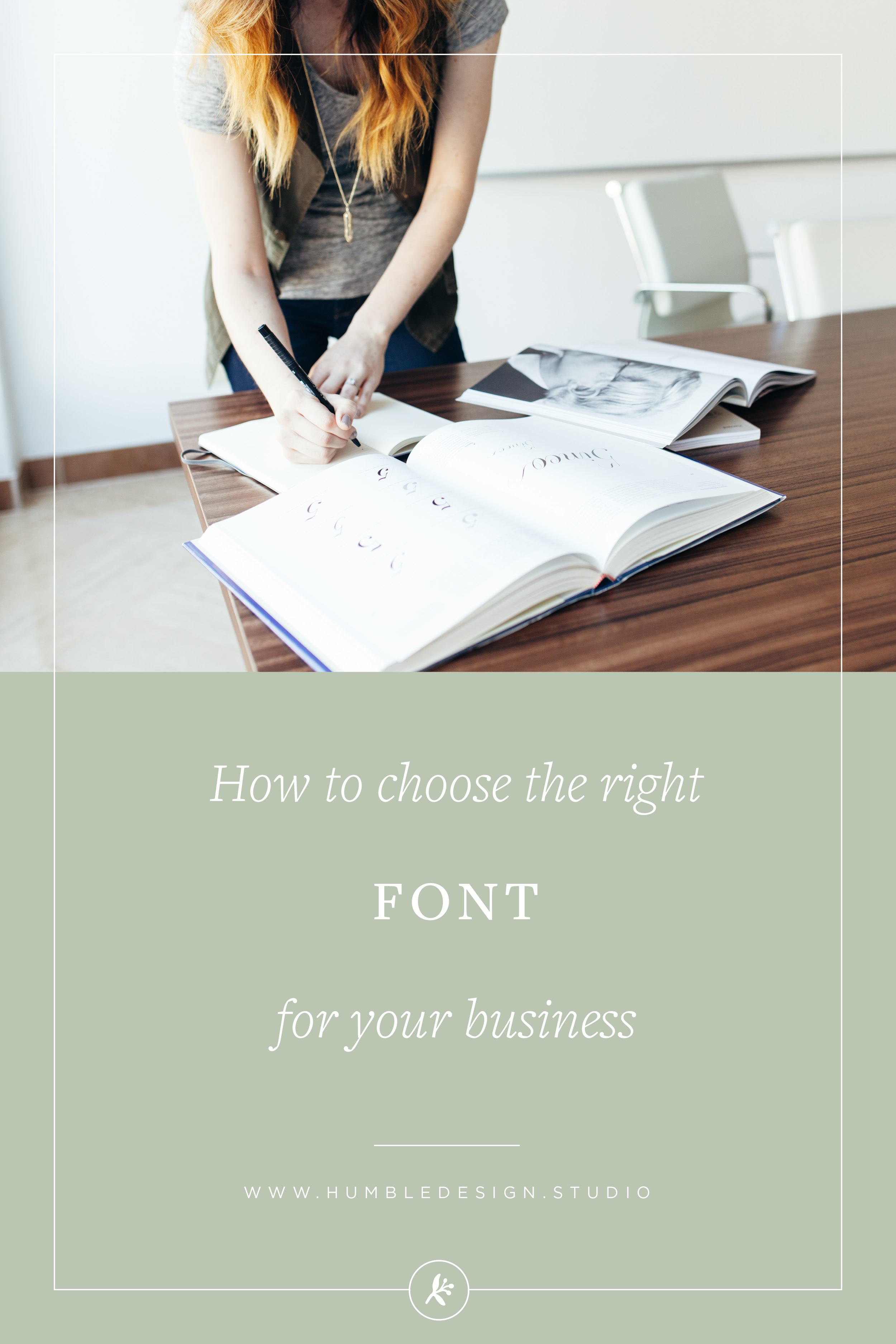 How to choose the right font for your business
