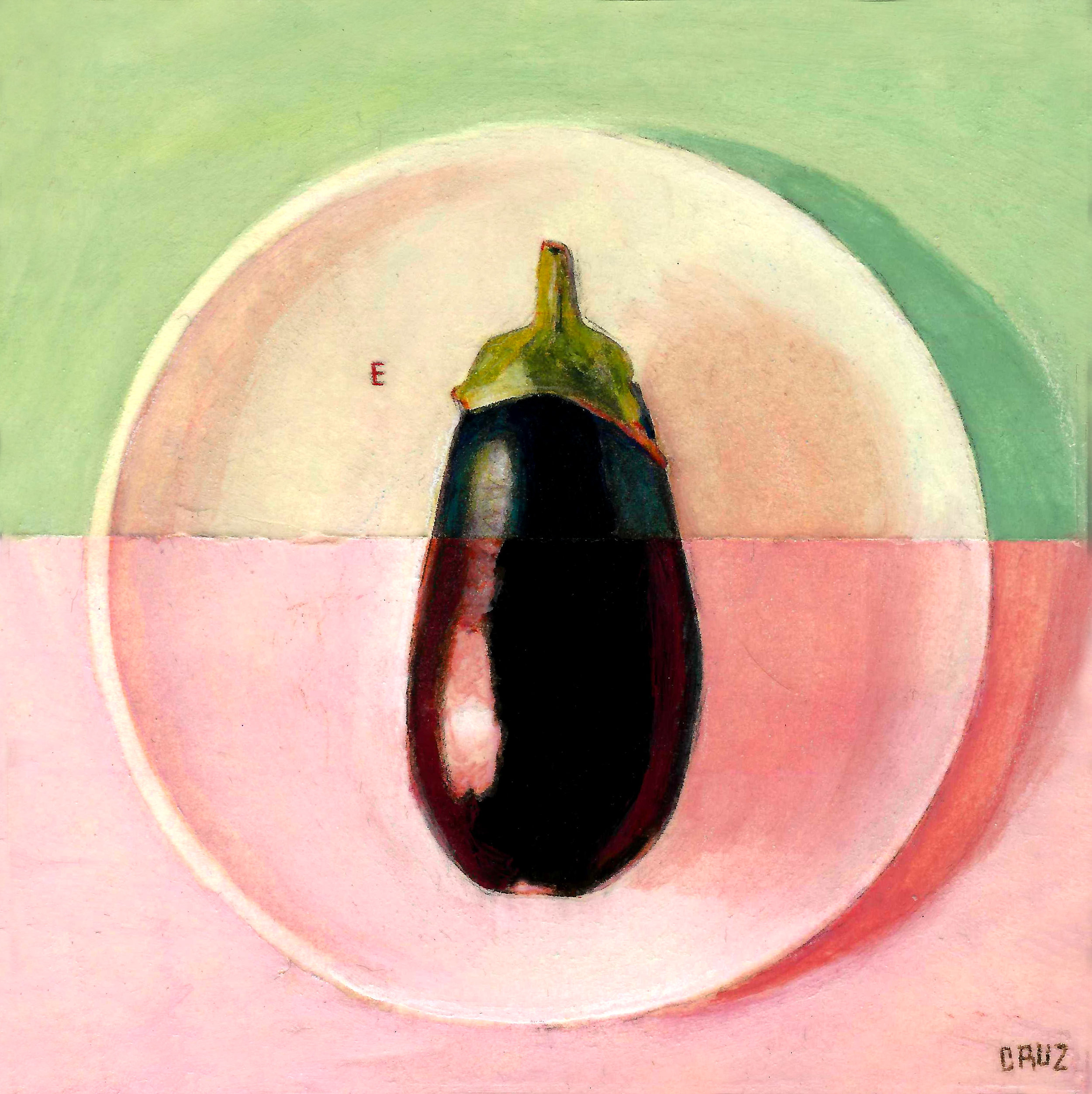E is for Eggplant