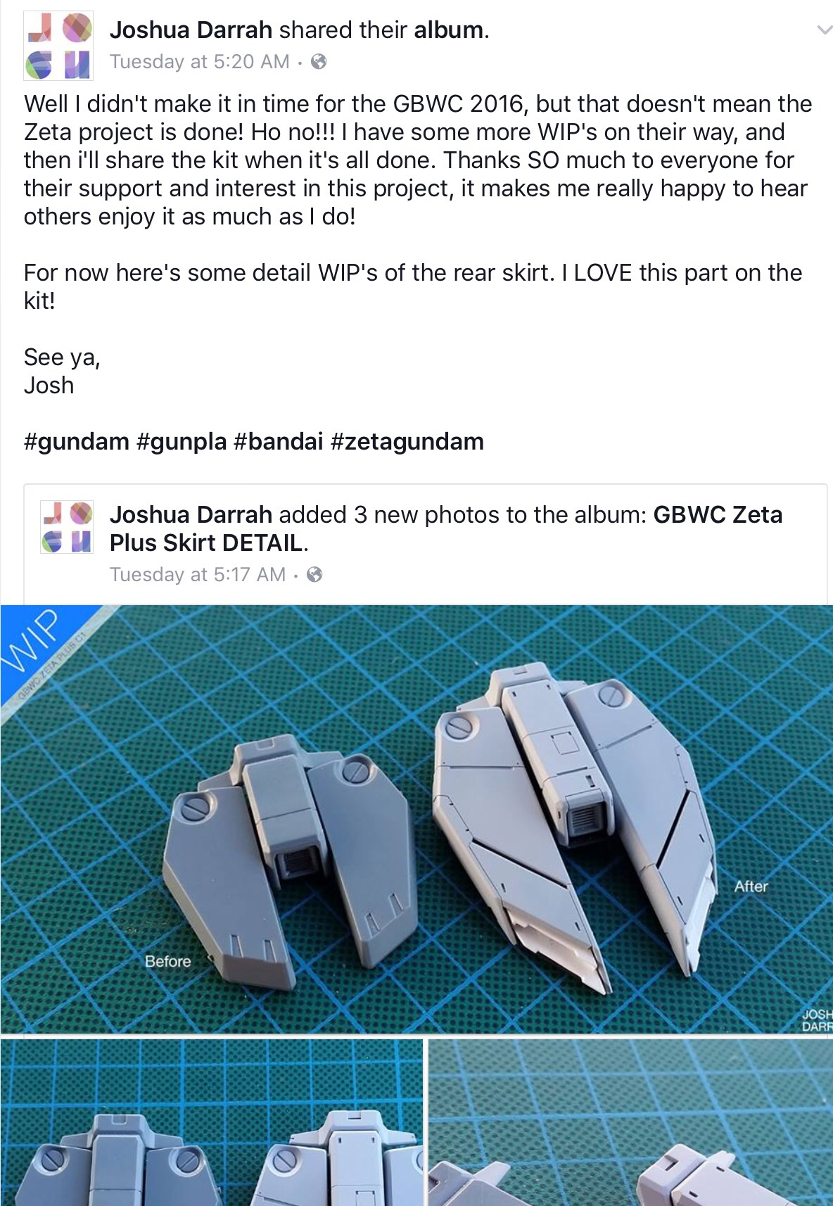 This post is oozing with enthusiasm, clear love of the hobby and an awesome display of skill.
