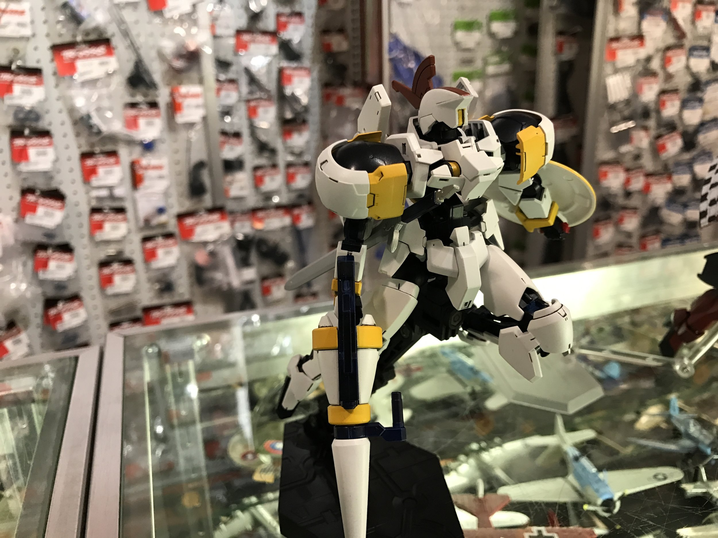 """""""Tallgraze"""" This kit was impressive to see in person. Very clean overall, and the design clearly expresses iconic elements of the Tallgese."""