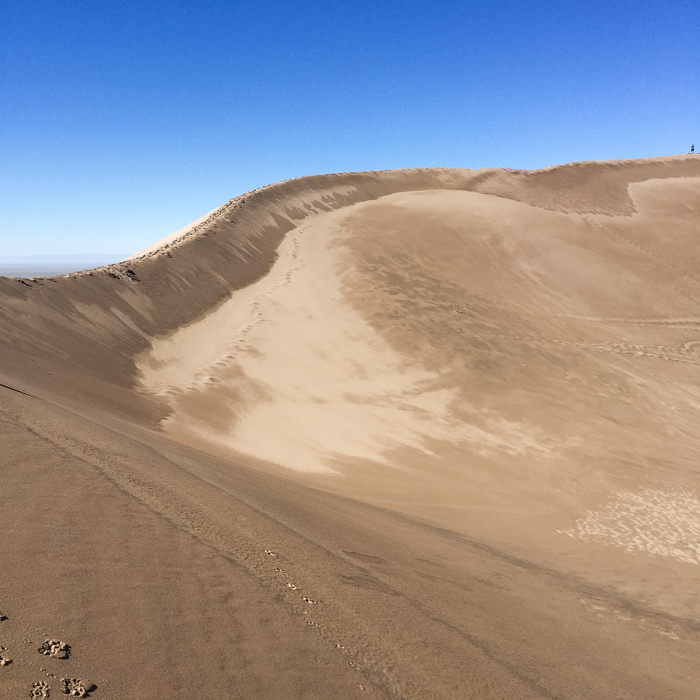 Ridge along Star Dune | 755 Feet