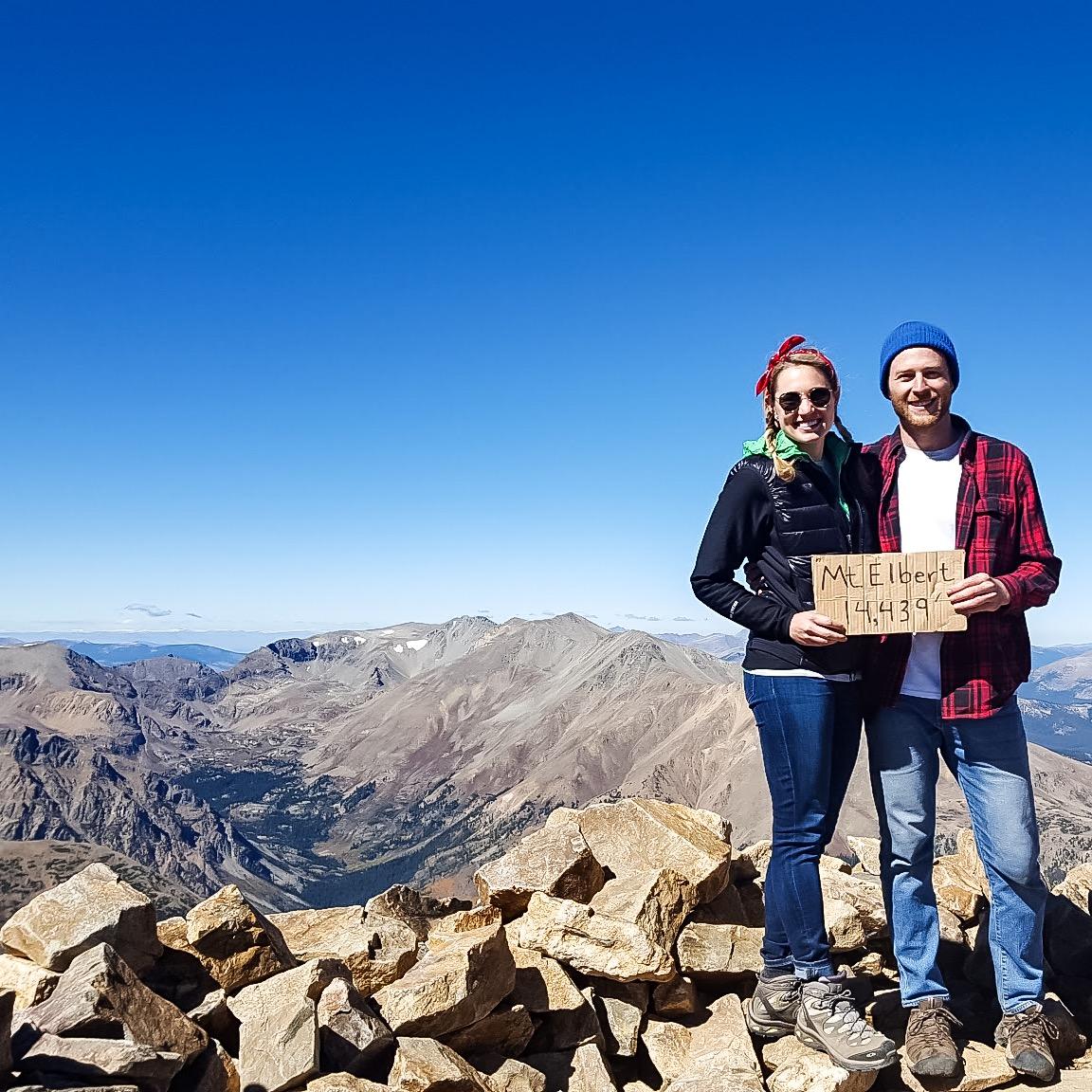 Michael and I at Summit