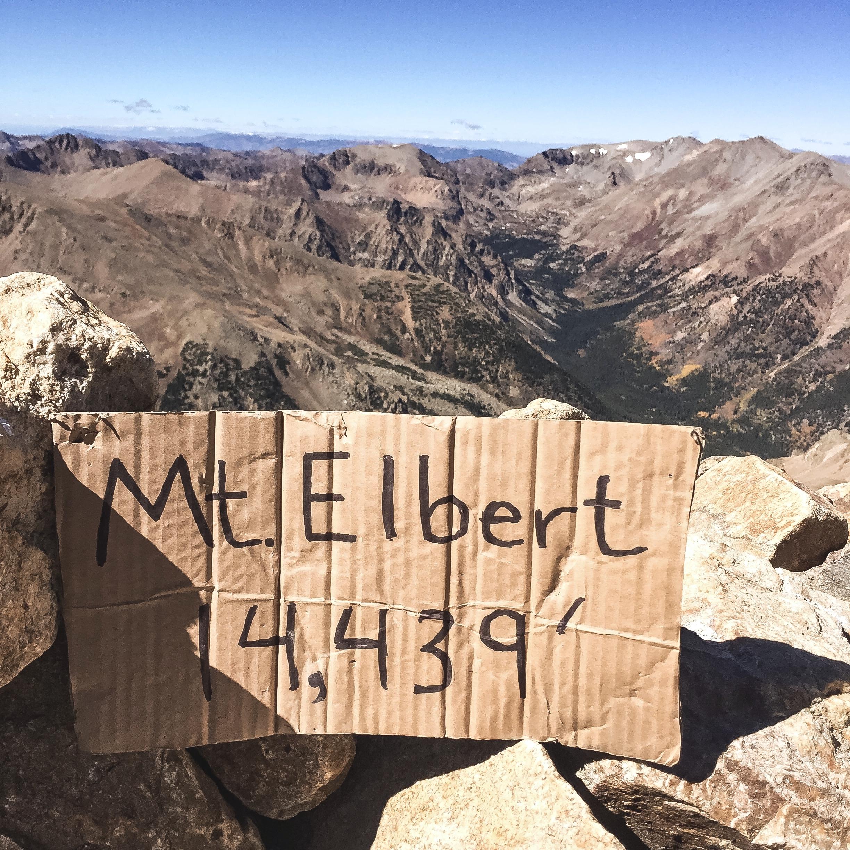Mt. Elbert's Summit