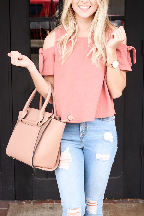 Pink Cold Shoulder Madewell Top-3.jpg