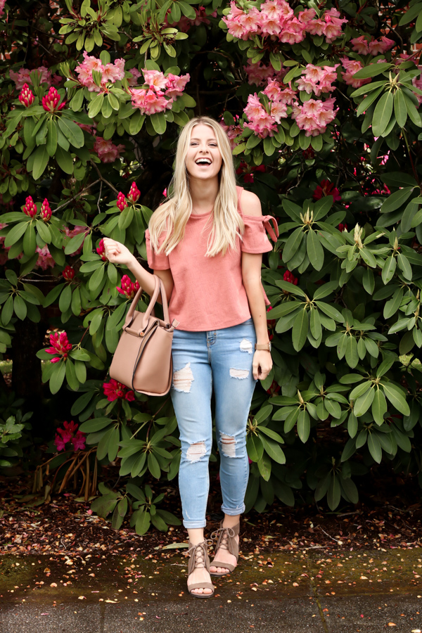 Pink Cold Shoulder Madewell Top-7.jpg