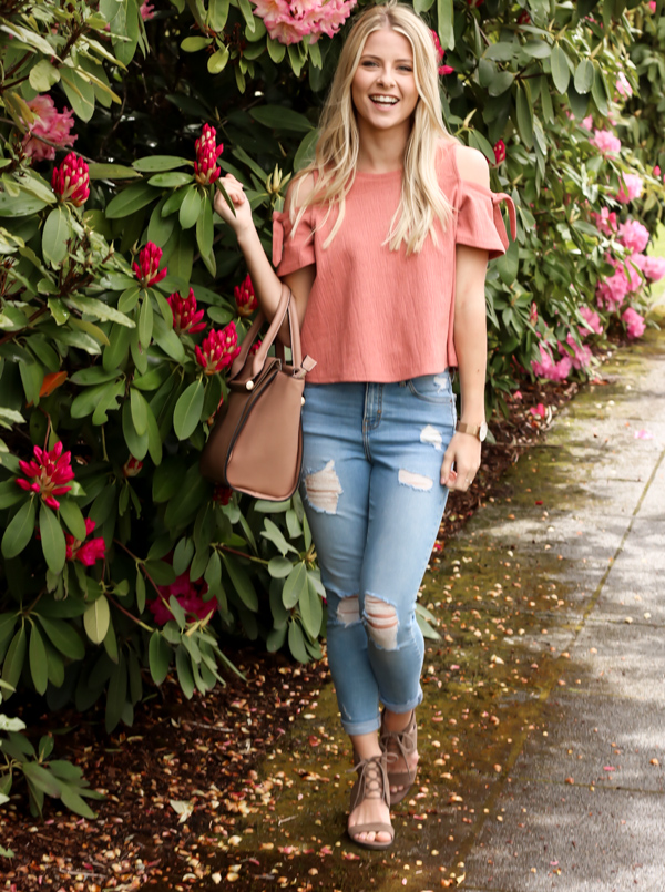 Pink Cold Shoulder Madewell Top-11.jpg