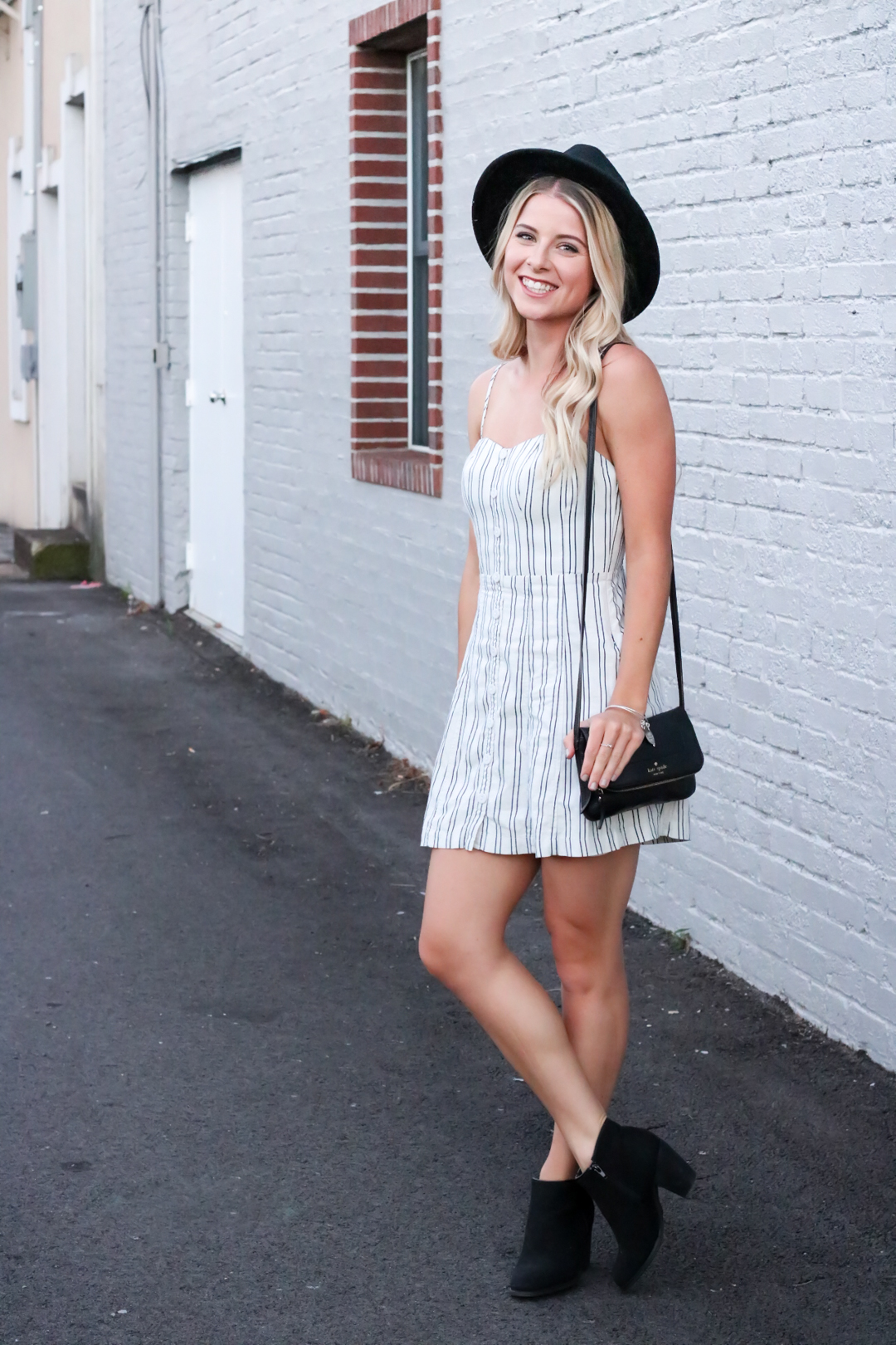 Striped Urban Outfitters Mini Dress-2.jpg