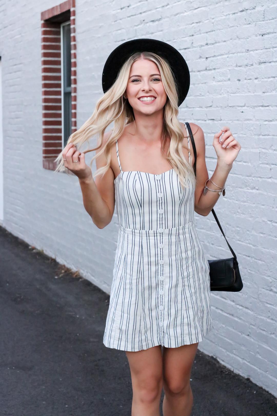 Striped Urban Outfitters Mini Dress-4.jpg