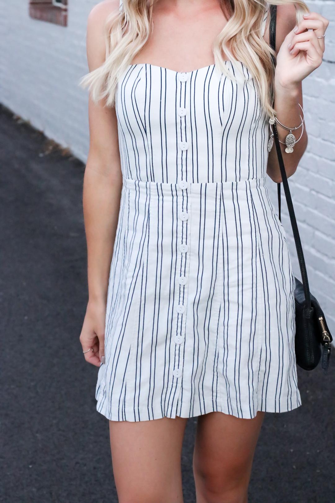 Striped Urban Outfitters Mini Dress-6.jpg