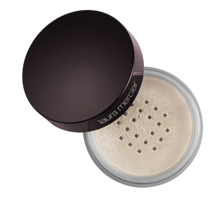 Laura Mercier Setting Powder - I've used this for over a year now and love love love it. Makes my makeup last all day.