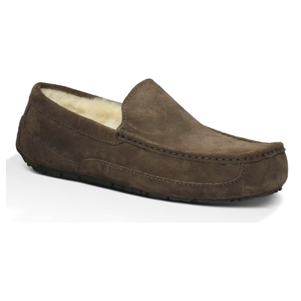 """UGG Mens Slipper - Let's face it. Practically every guy loves slippers. These ones are """"Chris"""" approved!"""