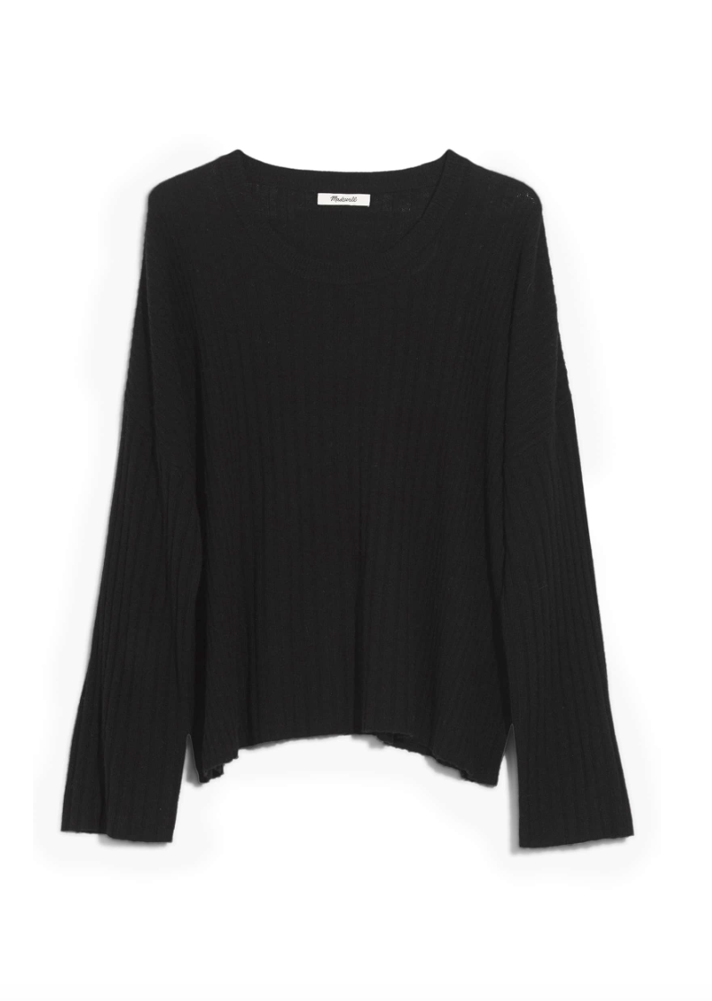 Madewell Sweater - The perfect black sweater!