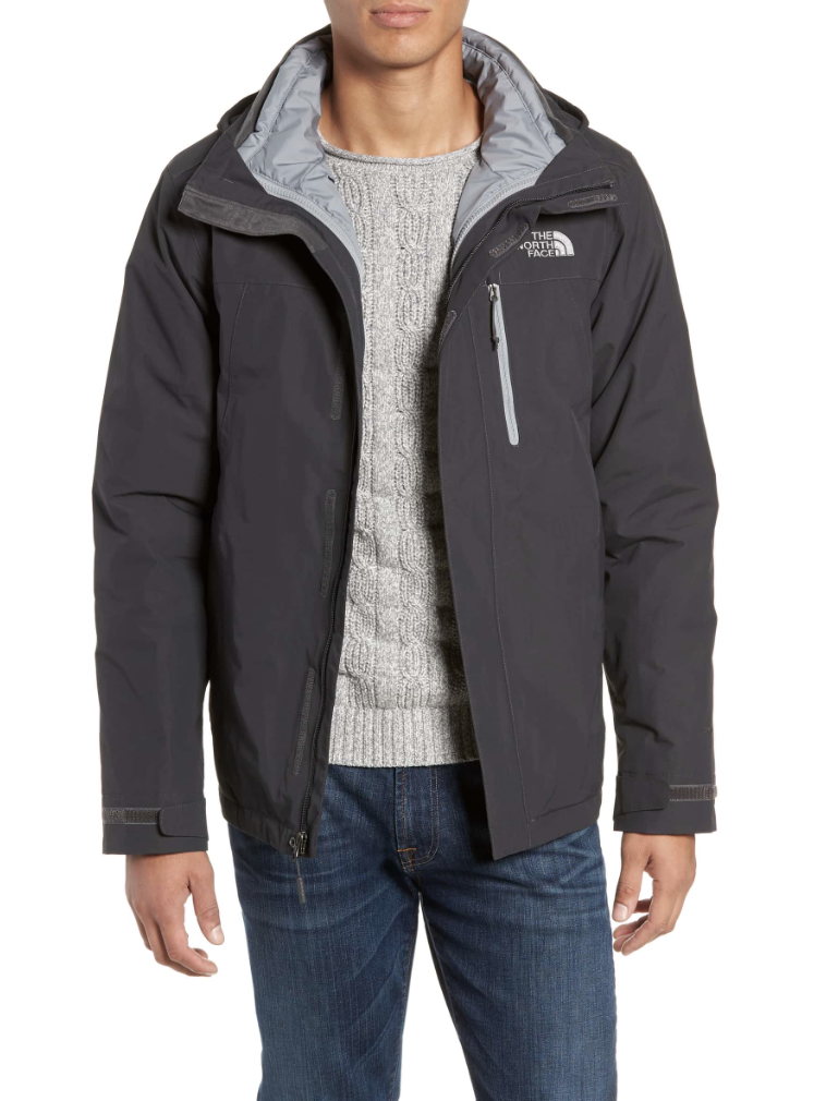 North Face Waterproof Jacket - This one is still a little spendy but would make a really great Christmas present for him! Originally $240, on sale for $180.