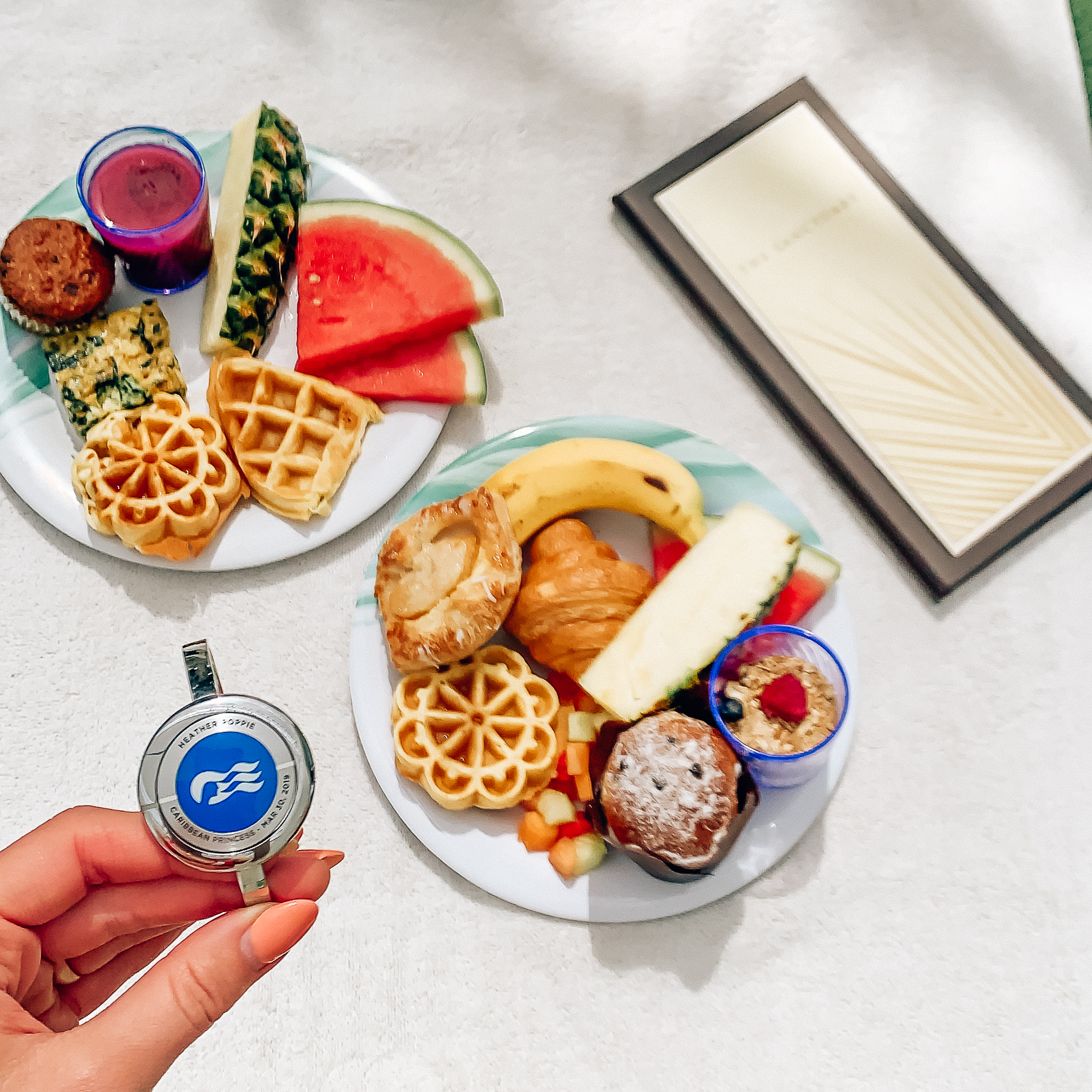 Caribbean Princess_March 2019_The Sanctuary _Food_Ocean Medallion.jpg