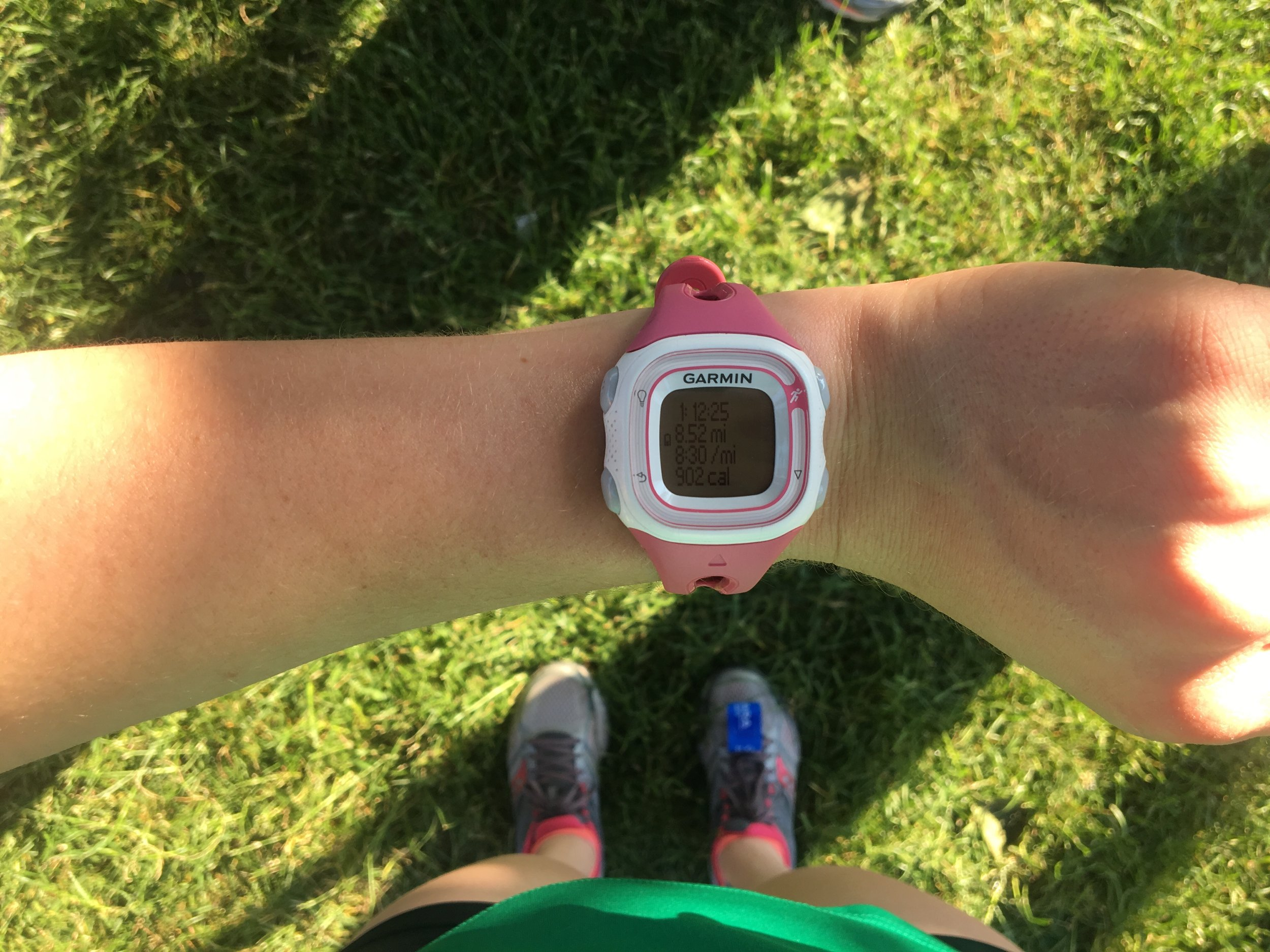 First Sunday long run with CARA