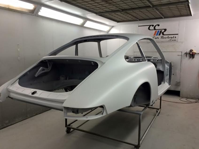Porsche 911 epoxy primed