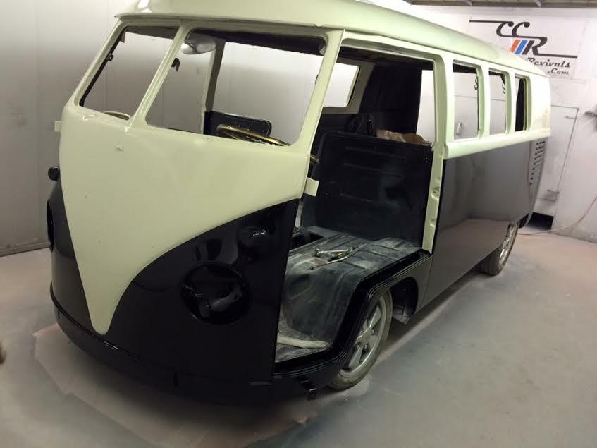 1962 VW Splitscreen flow coated