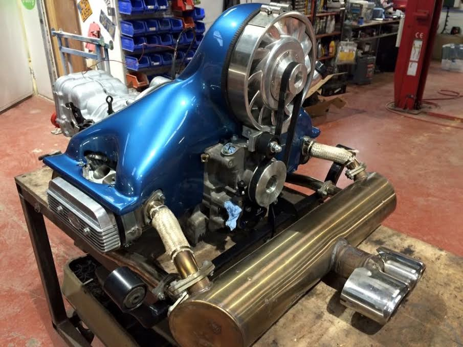 2.3 litre 150 bhp VW engine and uprated box