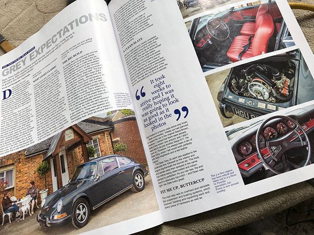Another fantastic feature on our 911 T, this time in 911 & Porsche world. Thanks for your kind words @ss9design 👌👌#Porsche #porsche911 #porscheworld #classicporsche #aircooled #flat6 #luftgekühlt @stevewinter911