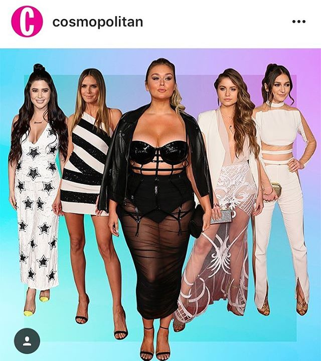 #repost @cosmopolitan  @officialsymon and @daya mentioned in cosmo's #bestdressed from the @iheartradio music awards 2017 🔥🔥🔥
