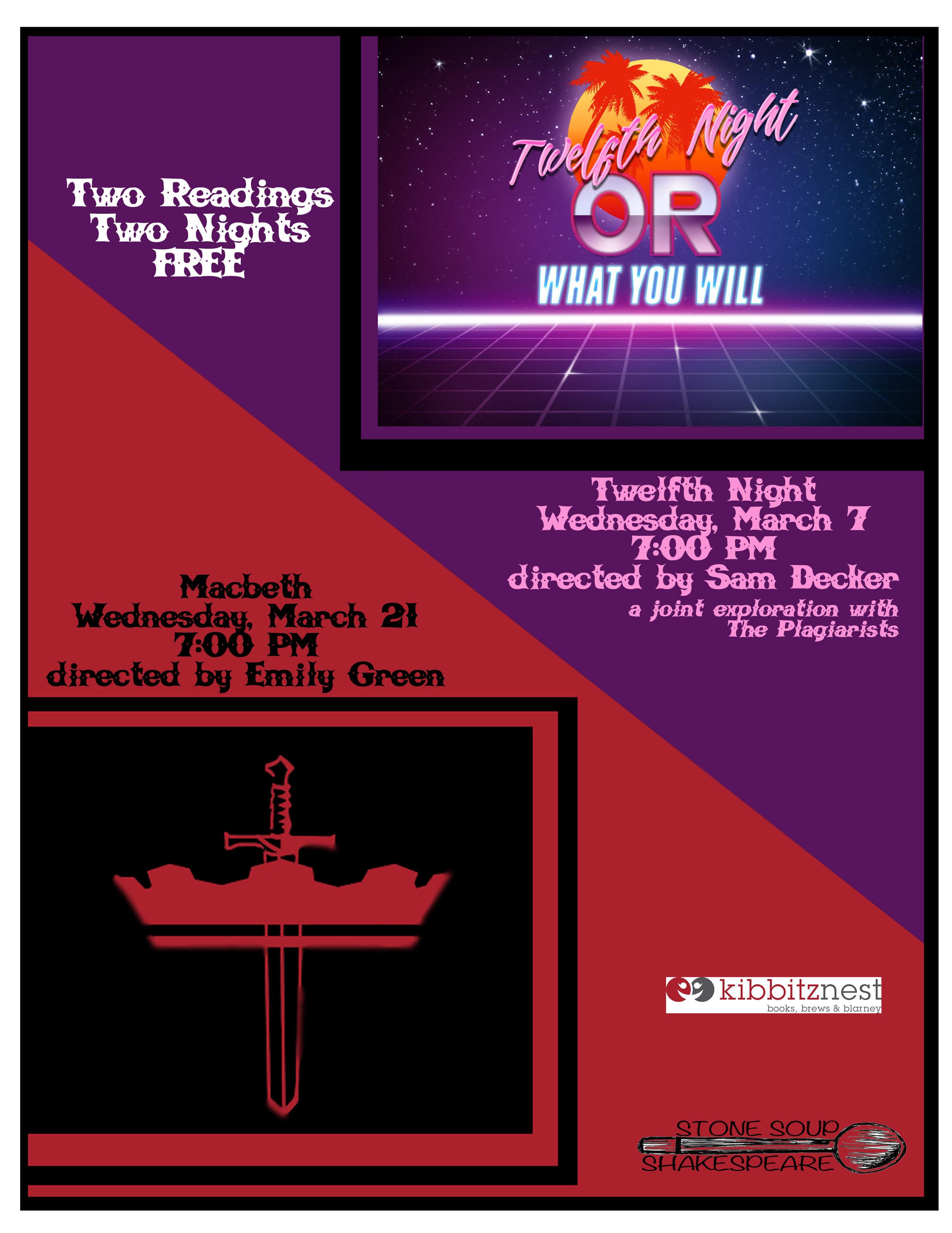 Twelfth Night - Directed bySam Decker