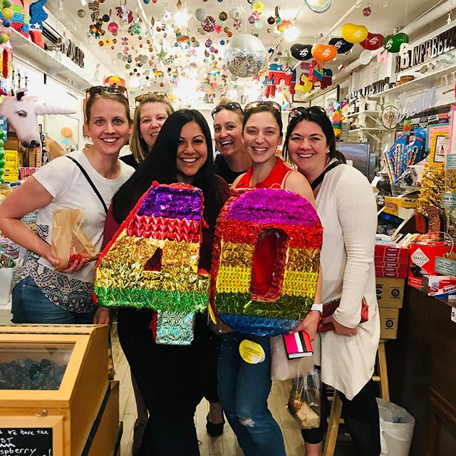 #fortyandfabulous . . . . #birthdaygirl #fortysomething #glitter #shopsmall #shoplocal #greatbarrington #visittheberkshires #berkshirefoodies #massachusetts #westernnewengland #newyork #newjersey #longisland #connecticut #newyorkfoodies #laeats #pinata #smilesmilesmile