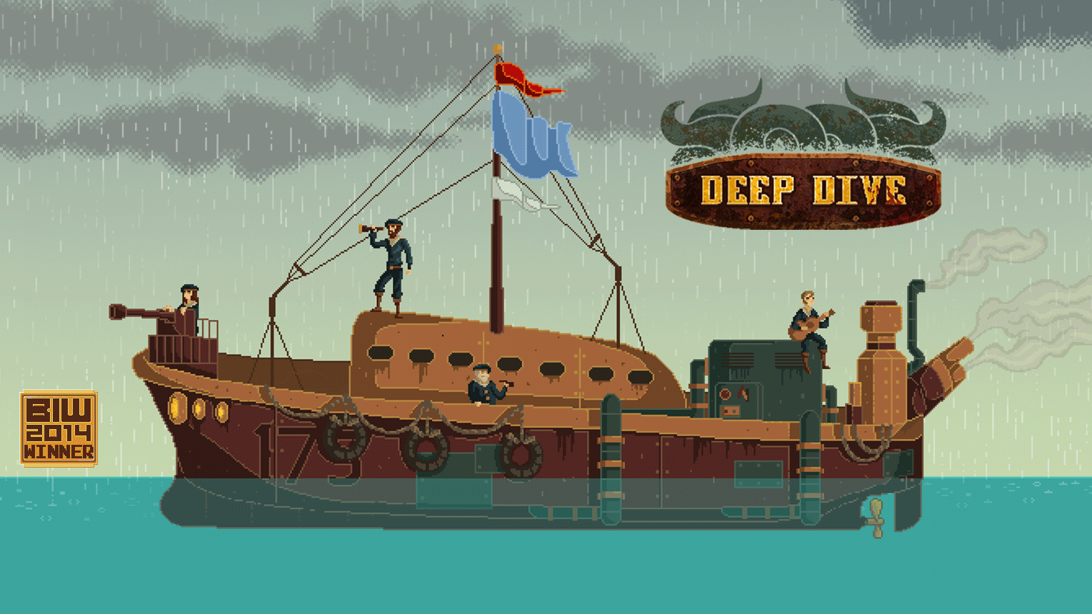Deep Dive was the winner of the 2014 Baltimore Innovation Week Independent Video Game of the Year award.